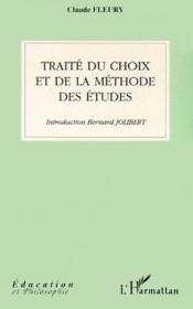 Traité du choix et de la méthode des études - Couverture - Format classique