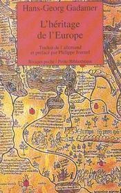 L'Heritage De L'Europe - Intérieur - Format classique