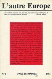 A2 Autre Europe (L') Denonciations - Couverture - Format classique