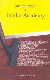 Intello academy  - Corinne Maier