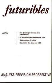 Futuribles No98 Avril 1986 - Couverture - Format classique