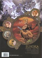 Slhoka t.3 ; le monde blanc - 4ème de couverture - Format classique