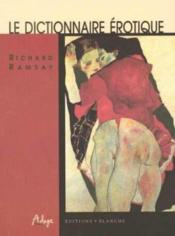 Dictionnaire Erotique - Couverture - Format classique