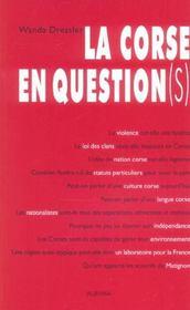 La Corse En Question(S) - Intérieur - Format classique