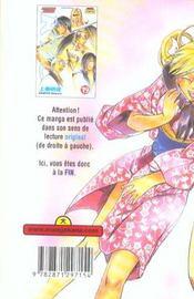 Samourai Deeper Kyo t.19 - 4ème de couverture - Format classique