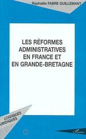 Les Reformes Administratives En France Et En Grande-Bretagne - Intérieur - Format classique