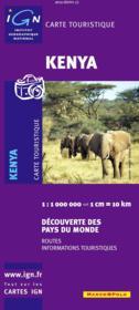 Kenya - Couverture - Format classique