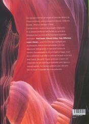 Deserts de couleurs paysages et litterature de l'ouest - 4ème de couverture - Format classique