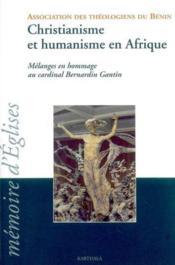 Christianisme Et Humanisme En Afrique - Couverture - Format classique