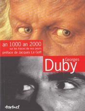 An 1000 an 2000 : sur les traces de nos peurs - Intérieur - Format classique