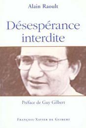Desesperance Interdite - Intérieur - Format classique