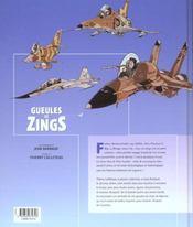 Gueules De Zings - 4ème de couverture - Format classique