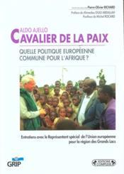 Aldo Ajello Cavalier De La Paix - Couverture - Format classique