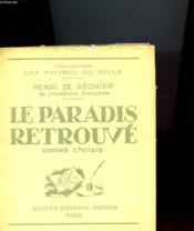 Le Paradis Retrouve - Contes Choisi - Couverture - Format classique
