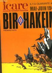 Icare N°100 - Il Y A Quarante Ans Mai-Juin 1942 - Bir-Hakeim - 1° Partie - Couverture - Format classique