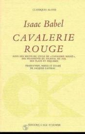 Cavalerie rouge - Couverture - Format classique