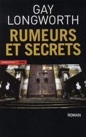 Rumeurs et secrets - Intérieur - Format classique