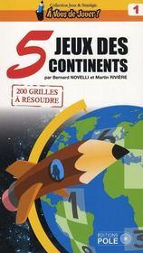 Jeux des 5 continents - Intérieur - Format classique