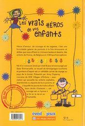 Les Vrais Heros De Vos Enfants Avec Annie Duperey ; Soeur Emmanuelle - 4ème de couverture - Format classique