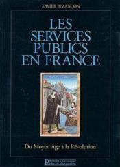 Services Publics En France - Couverture - Format classique