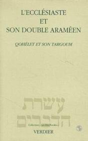 L'Ecclesiaste Et Son Double Arameen - Couverture - Format classique