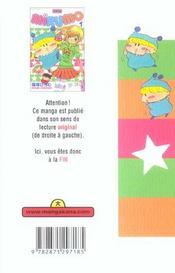 Mirumo t.1 - 4ème de couverture - Format classique