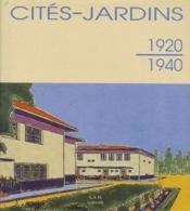 Cités-jardins (1920-1940) - Couverture - Format classique