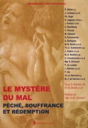 Le mystère du mal : péché, souffrance et rédemption - Couverture - Format classique