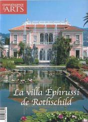 Connaissance Des Arts N.249 ; La Villa Ephrussi De Rothschild - Intérieur - Format classique