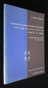 Secret Mariage David & Bethsabee - Couverture - Format classique