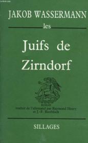 Juifs de Zindorf - Couverture - Format classique