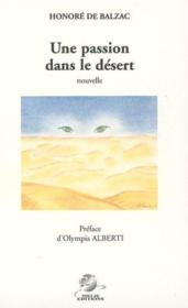 Une passion dans le désert - Couverture - Format classique