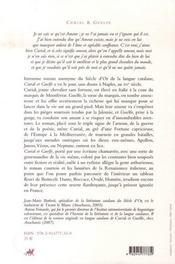 Curial et guelfe (version francaise) - 4ème de couverture - Format classique
