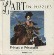 Art En Puzzle Princes Et Princesses - Couverture - Format classique