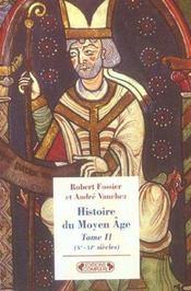 Histoire du moyen-age tome 2 - Intérieur - Format classique