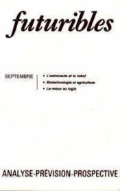 Futuribles No102 Septembre 1986 - Couverture - Format classique