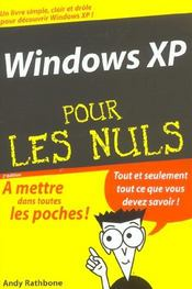 Vente livre :  Windows xp (2e édition)  - Andy Rathbone