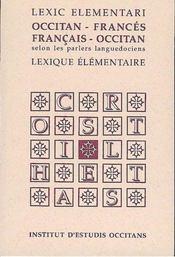 Lexic elementari occitan-francais / francais-occitan - Intérieur - Format classique