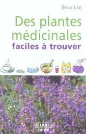 Plantes Medicinales Faciles A Trouver - Intérieur - Format classique