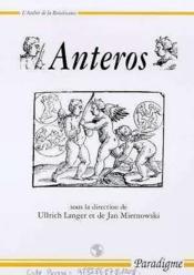 Anteros - Couverture - Format classique