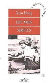 Des Ames Simples - Couverture - Format classique