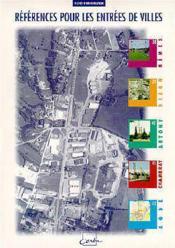 Reférences pour les entrées de villes ; N 38 A 42 - Couverture - Format classique