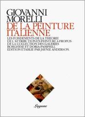 De La Peinture Italienne - Couverture - Format classique