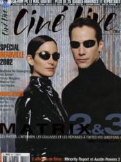 CINE LIVE - N° 60 - MATRIX 2 & 3 - les photos, l'interview, les coulisses et les réponses à toutes vos questions - Couverture - Format classique