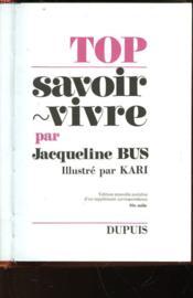 Top Savoir Vivre - Couverture - Format classique