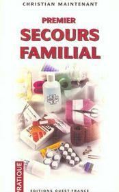 Premier secours familial - Intérieur - Format classique