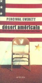 Desert Americain - Intérieur - Format classique