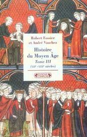 Histoire du moyen-age tome 3 - Intérieur - Format classique