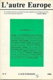 A9 Autre Europe (L') Lutz Rathenau - Couverture - Format classique