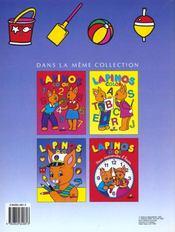 Lapinos Color ; A La Mer - 4ème de couverture - Format classique
